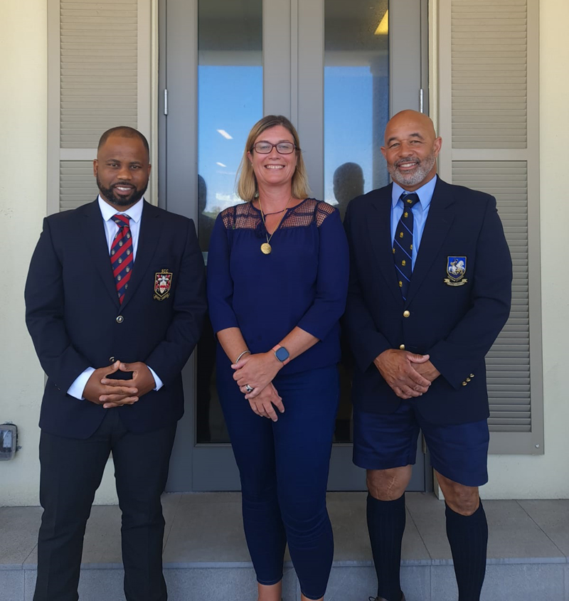 Vashun Blanchette, Tanya Bule & Neil Paynter Bermuda July 2021