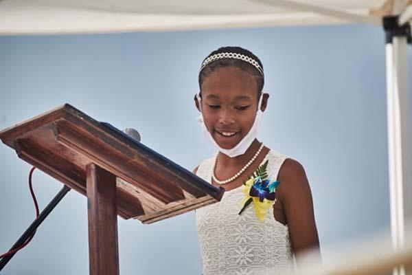 West End Primary School Graduation Bermuda June 2021 4