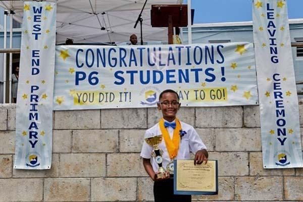 West End Primary School Graduation Bermuda June 2021 5