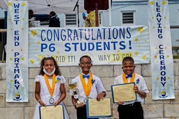 West End Primary School Graduation Bermuda June 2021 8