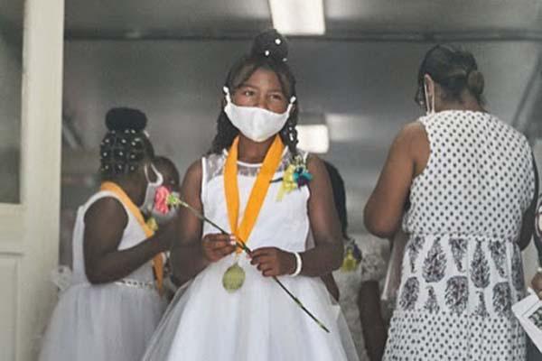 West End Primary School Graduation Bermuda June 2021 9