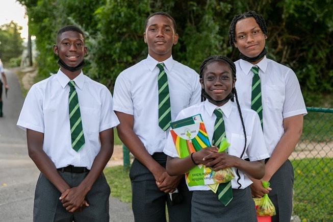Whitney Middle School Graduates Bermuda July 2021 1