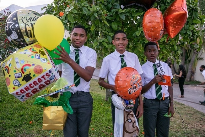 Whitney Middle School Graduates Bermuda July 2021 2