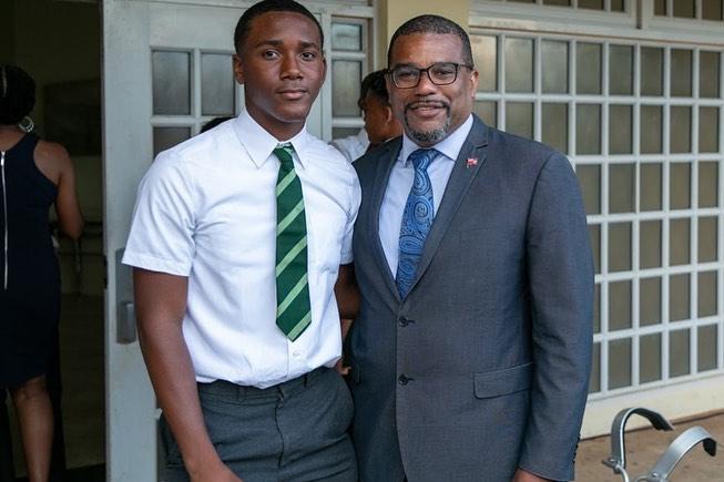 Whitney Middle School Graduates Bermuda July 2021 4