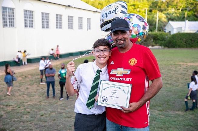 Whitney Middle School Graduates Bermuda July 2021 5