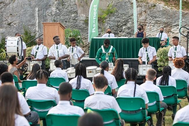 Whitney Middle School Graduates Bermuda July 2021 8