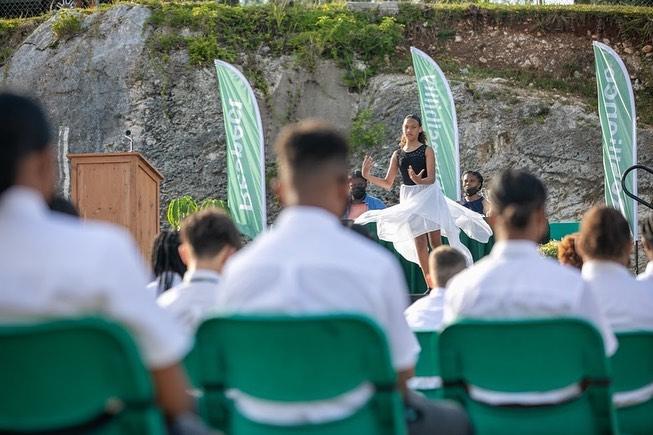 Whitney Middle School Graduates Bermuda July 2021 9