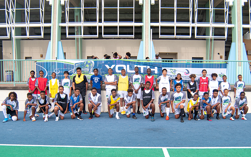 Youth Futsal League Bermuda July 2021 1