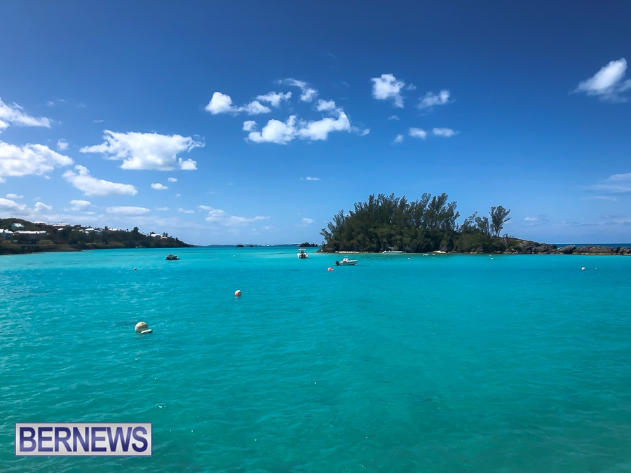 369 - A gorgeous day and amazing view from Bailey's Bay on a Bermuda-ful day