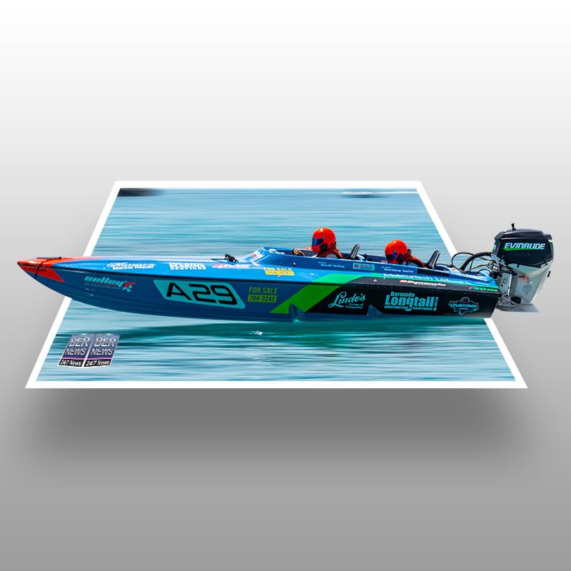 Around the Island Powerboat Racing A-29 Bermuda August 9 2021