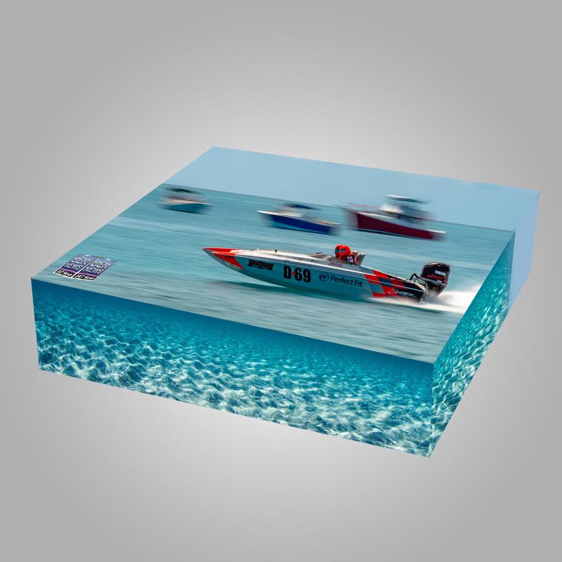 Around the Island Powerboat Racing B3 Bermuda August 9 2021 2d cube vibe 3r3