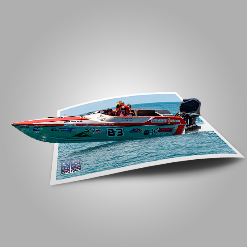 Around the Island Powerboat Racing B3 Bermuda August 9 2021