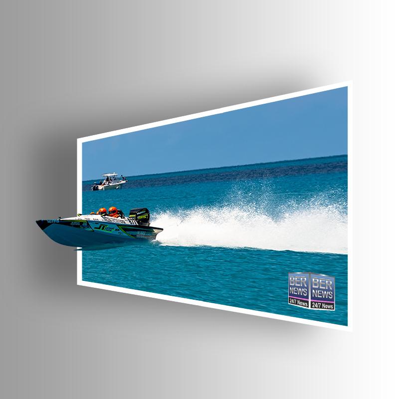 Around the Island Powerboat Racing B77 Bermuda August 9 2021 2