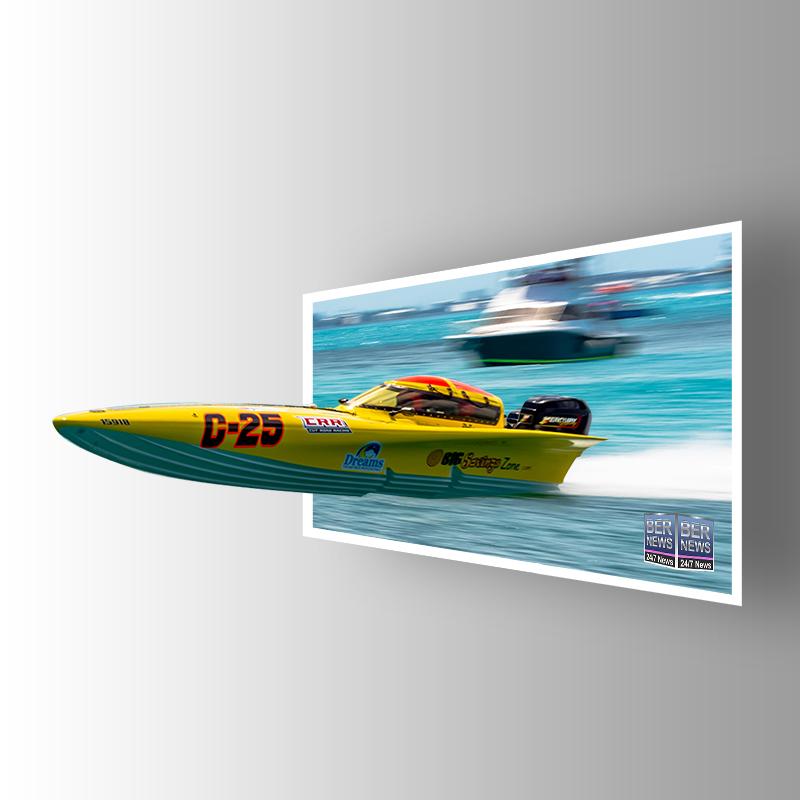 Around the Island Powerboat Racing C-25 Bermuda August 9 2021