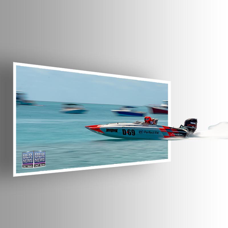 Around the Island Powerboat Racing D-69 Bermuda August 9 2021