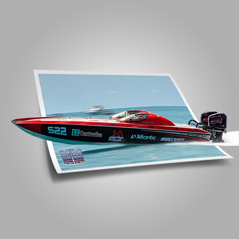Around the Island Powerboat Racing S22 Bermuda August 9 2021