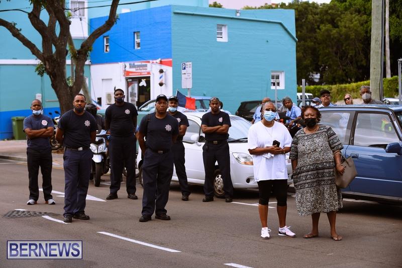 BIU Bermuda protest march August 31 2021 Bernews AW (12)