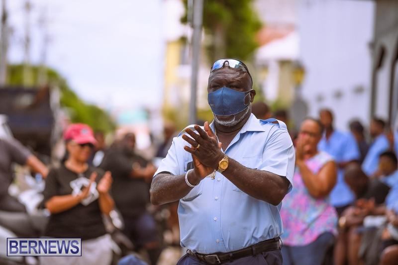 BIU Bermuda protest march August 31 2021 Bernews AW (16)