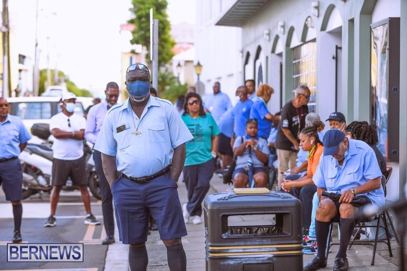 BIU Bermuda protest march August 31 2021 Bernews AW (5)
