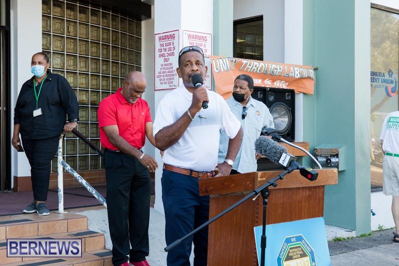 BIU Members gather on Aug 30 2021 Bermuda DW (1)