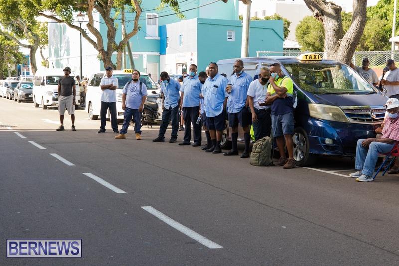 BIU Members gather on Aug 30 2021 Bermuda DW (10)