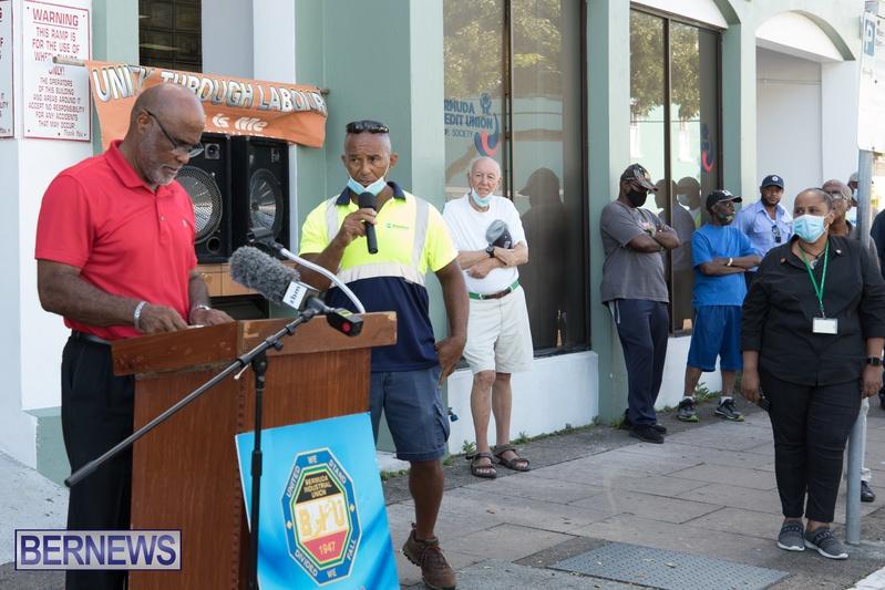 BIU Members gather on Aug 30 2021 Bermuda DW (11)