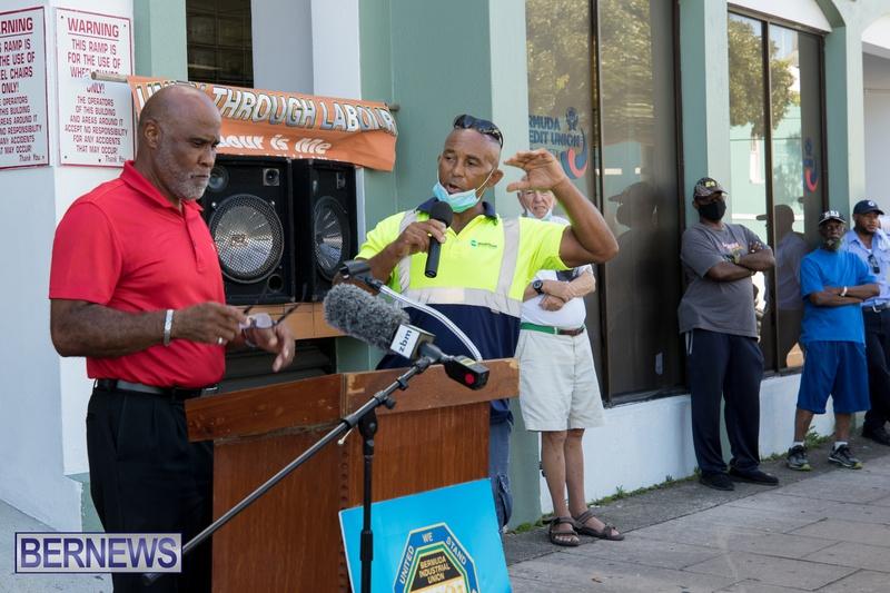 BIU Members gather on Aug 30 2021 Bermuda DW (12)