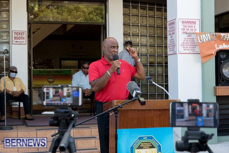 BIU Members gather on Aug 30 2021 Bermuda DW (13)