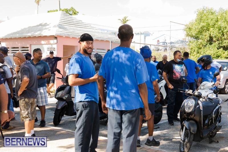 BIU Members gather on Aug 30 2021 Bermuda DW (14)