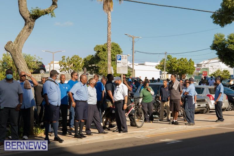 BIU Members gather on Aug 30 2021 Bermuda DW (2)