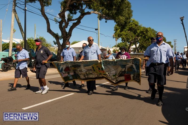 BIU Members gather on Aug 30 2021 Bermuda DW (20)