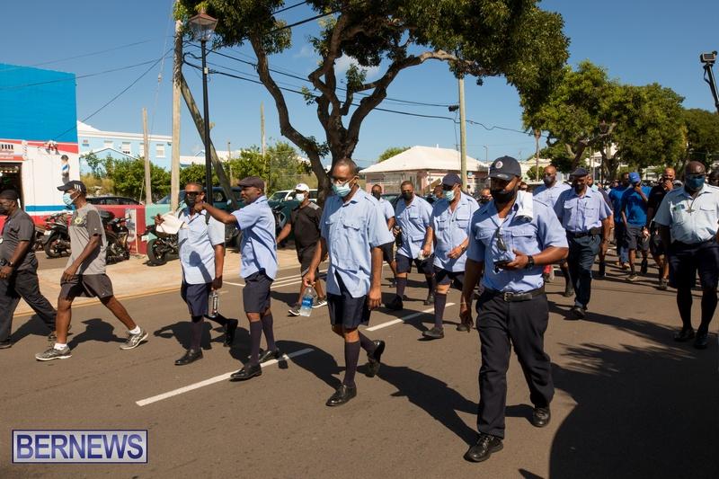 BIU Members gather on Aug 30 2021 Bermuda DW (22)