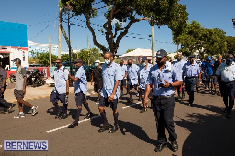 BIU Members gather on Aug 30 2021 Bermuda DW (23)