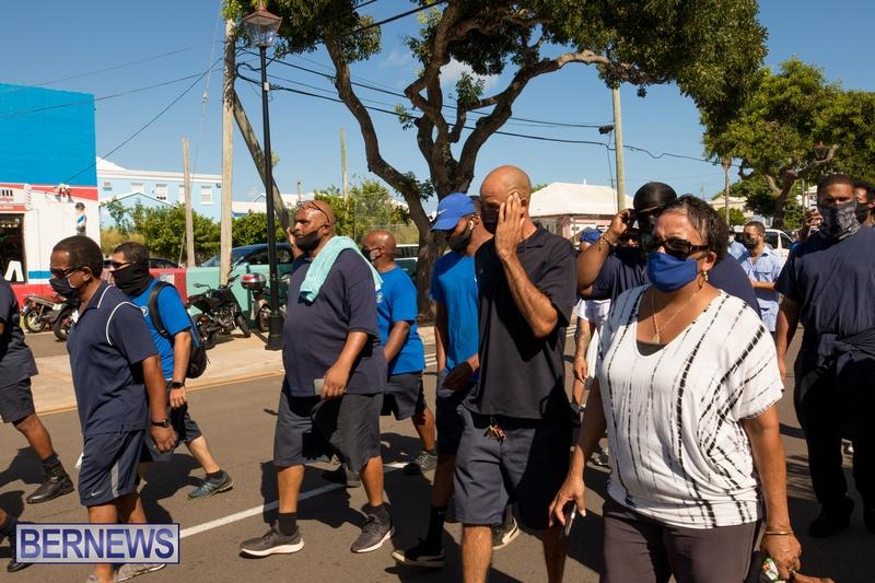 BIU Members gather on Aug 30 2021 Bermuda DW (25)