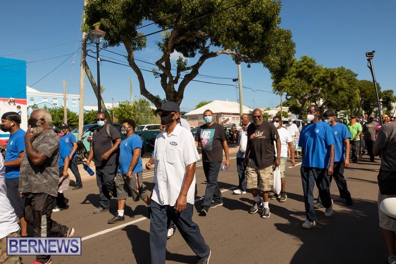 BIU Members gather on Aug 30 2021 Bermuda DW (29)