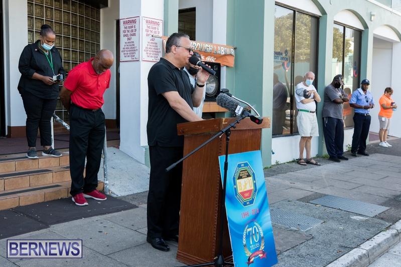 BIU Members gather on Aug 30 2021 Bermuda DW (3)