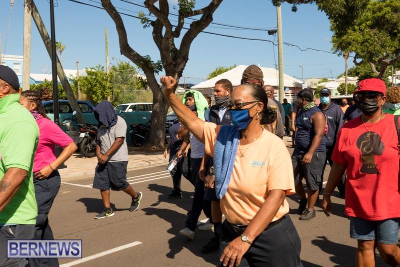 BIU Members gather on Aug 30 2021 Bermuda DW (33)
