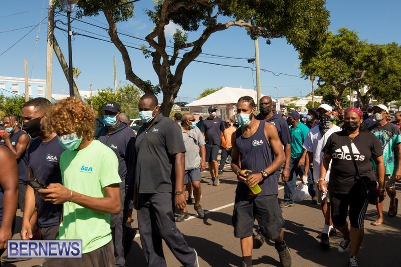 BIU Members gather on Aug 30 2021 Bermuda DW (34)
