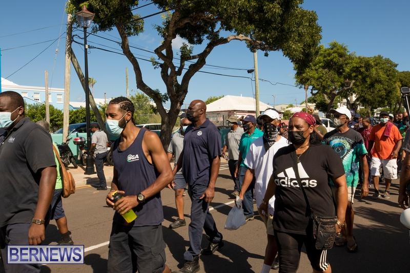 BIU Members gather on Aug 30 2021 Bermuda DW (35)