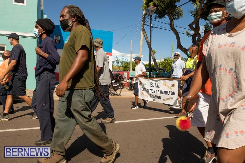 BIU Members gather on Aug 30 2021 Bermuda DW (37)