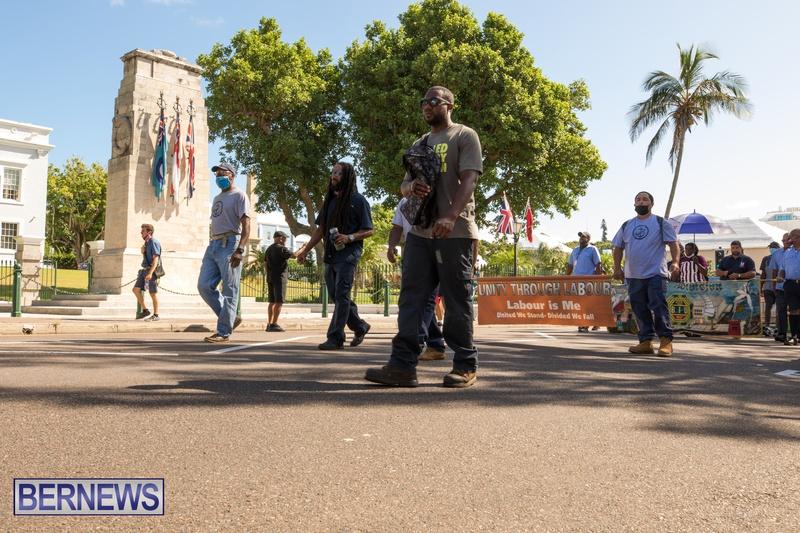 BIU Members gather on Aug 30 2021 Bermuda DW (49)