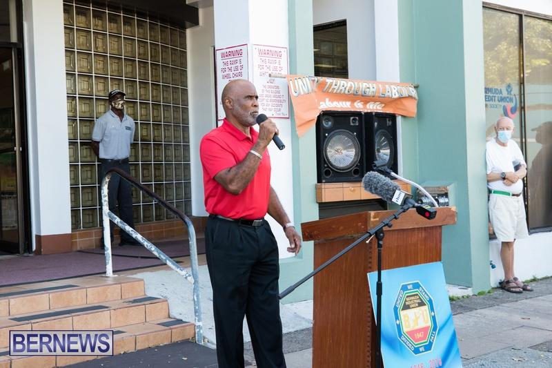 BIU Members gather on Aug 30 2021 Bermuda DW (6)