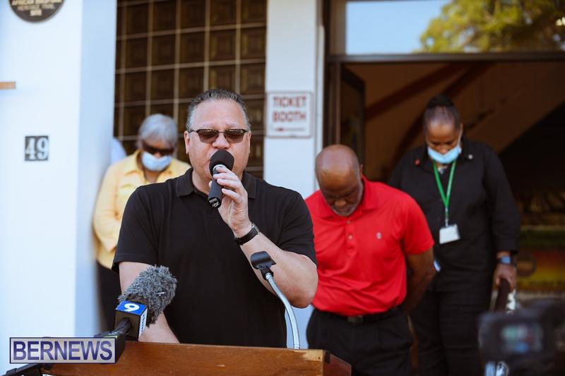 BIU Union gather and march Aug 30 2021 Bermuda Bernews AW (7)