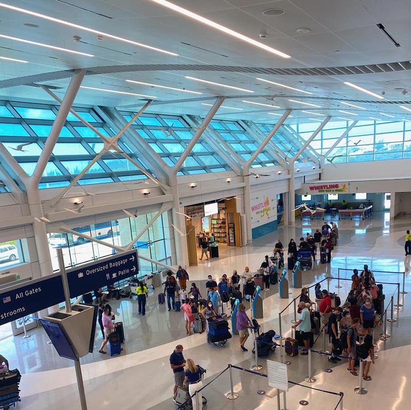 Bermuda Airport Aug 2021