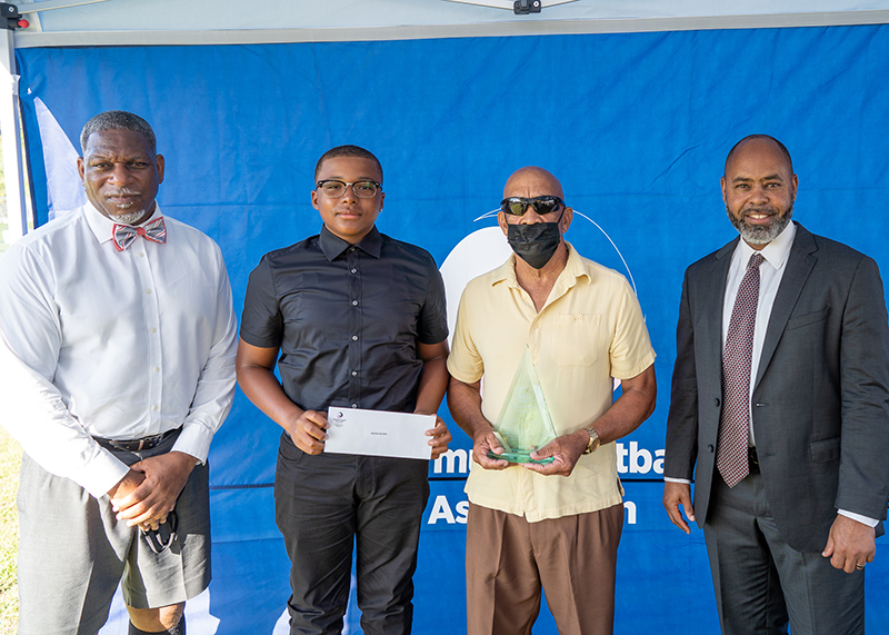 Bermuda Football Association held the Legends Scholarship Awards August 5 2021 (1)