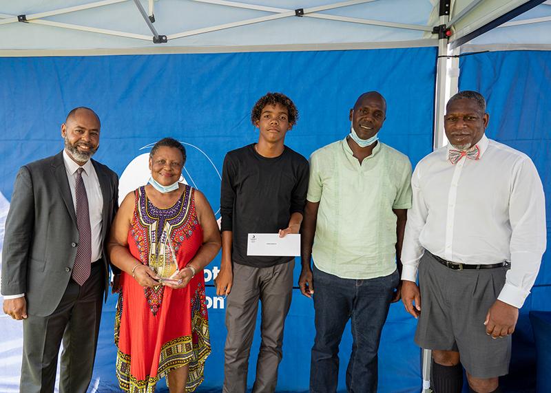 Bermuda Football Association held the Legends Scholarship Awards August 5 2021 (4)