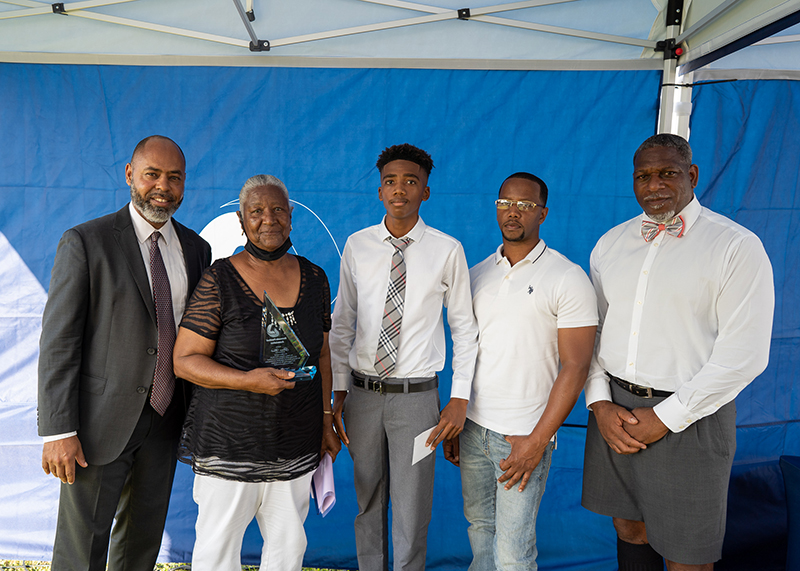 Bermuda Football Association held the Legends Scholarship Awards August 5 2021 (5)