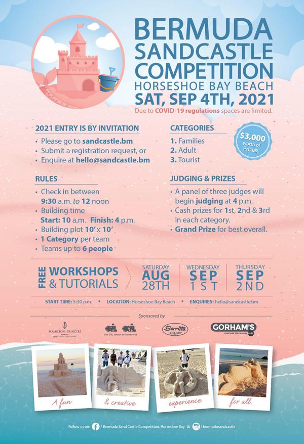 Bermuda Sandcastle Competition August 2021 (1)