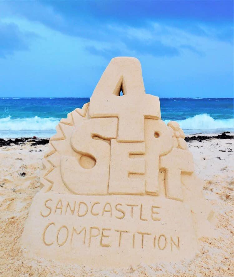 Bermuda Sandcastle Competition August 2021