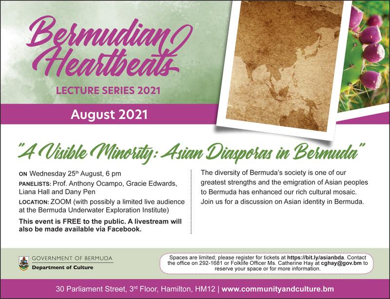 Bermudian Heartbeats August 2021
